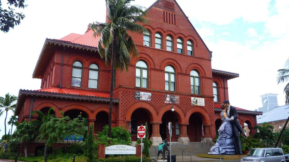 Show item 2 of 8. visit the Museum of Art and History in Key West