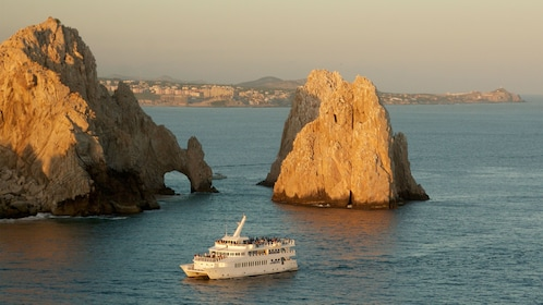 gigantic rock formations near the coastline in Los Cabos