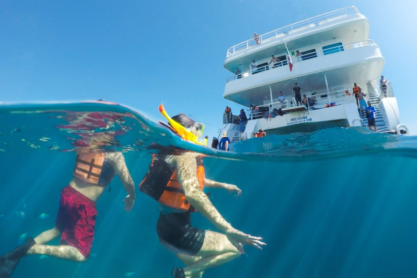 Show item 1 of 9. Caborey Snorkeling Tour with Lunch & Open Bar