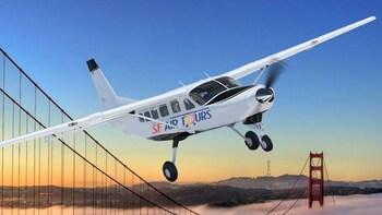 Tour en avión por San Francisco, Oakland, el centro de la ciudad y Sausalit...