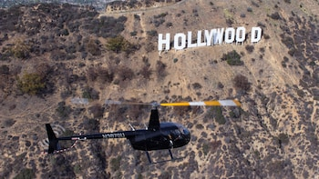 Hollywood Sign Helicopter Tour
