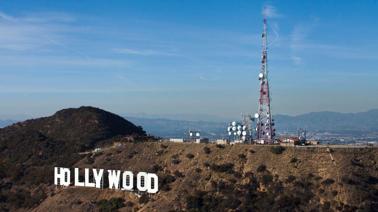 Hollywood sign near Los Angeles
