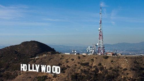 Hollywood sign near Los Angeles