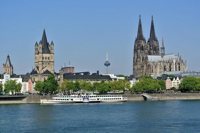 Our tour takes you through Cologne's old town