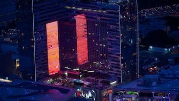 Vol nocturne en hélicoptère à la découverte de Hollywood et du centre-ville