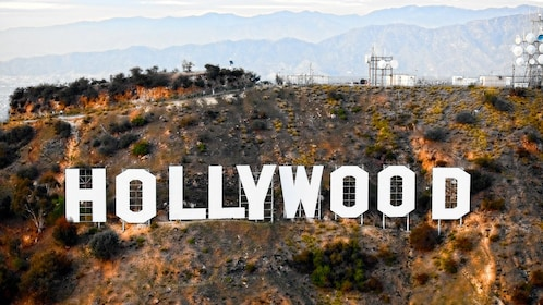 Hollywood sign in Los Angeles during the daytime