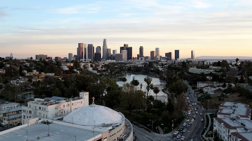 Landscape view of the beautiful city of Los Angeles