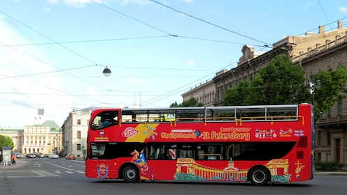Hop-On Hop-Off Bus Tour in St Petersburg