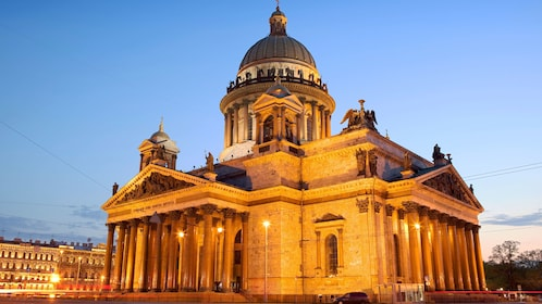 Saint Isaac's Cathedral in Saint Petersburg