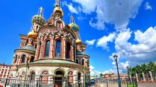 St Basil's Cathedral Moscow during the daytime in Saint Petersburg