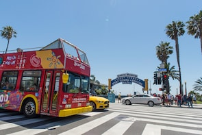 Ontdek Los Angeles en Hollywood: hop-on, hop-off-bustour