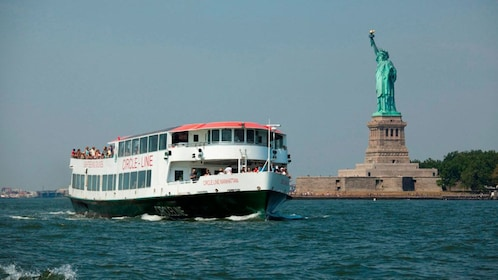 Statue of Liberty tour boat