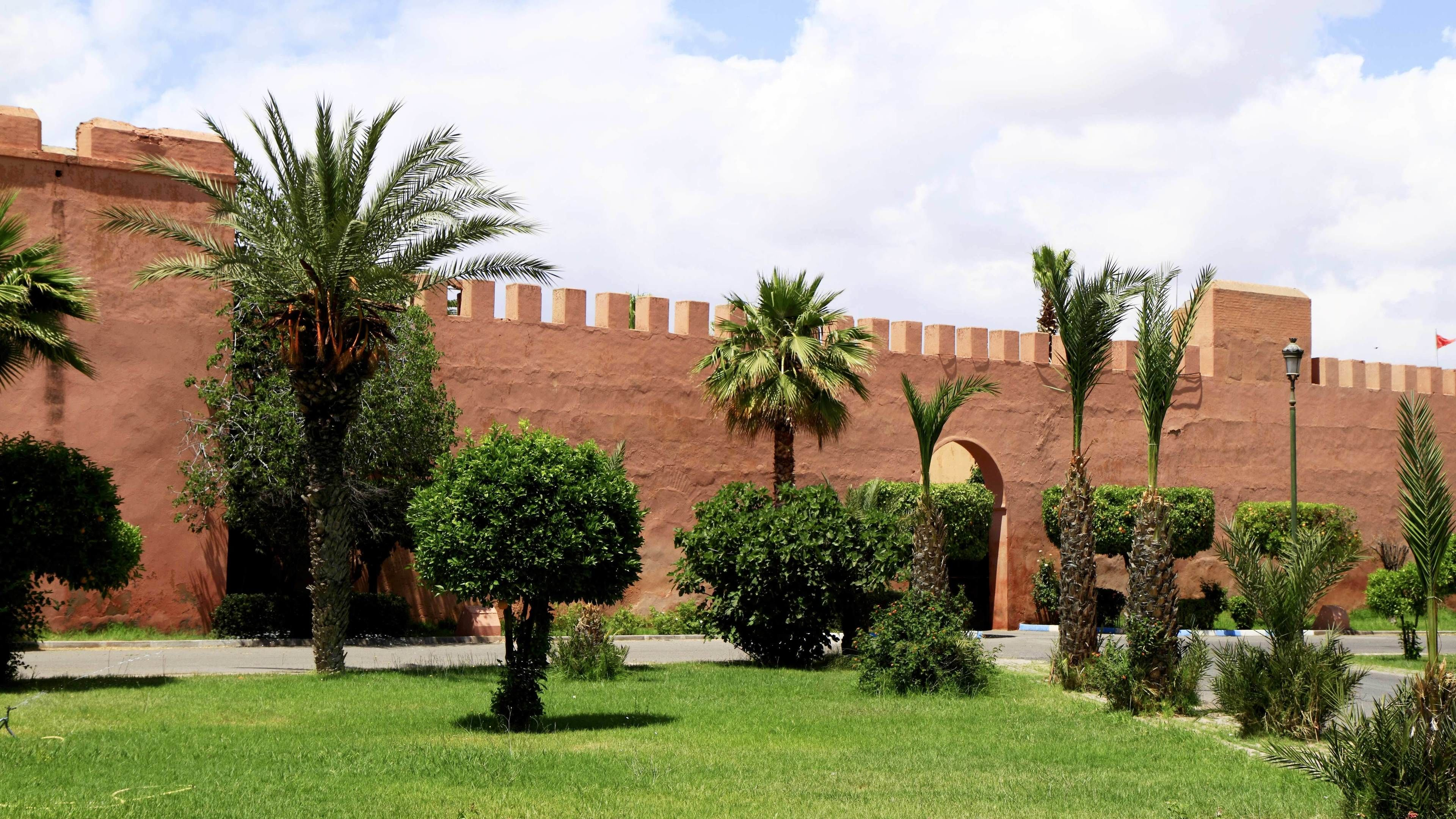 Day view of the city of Marrakech