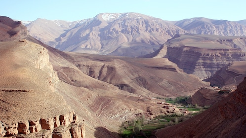 Stunning view of the Dades & Todra Gorges in Marrakech