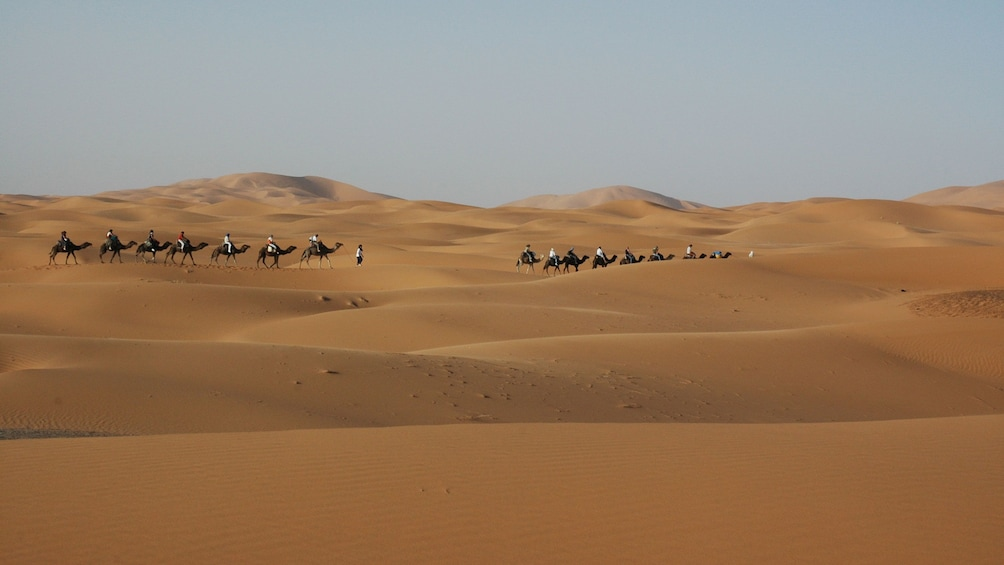 Show item 3 of 5. Stunning view of the Zagora Dunes in Marrakech