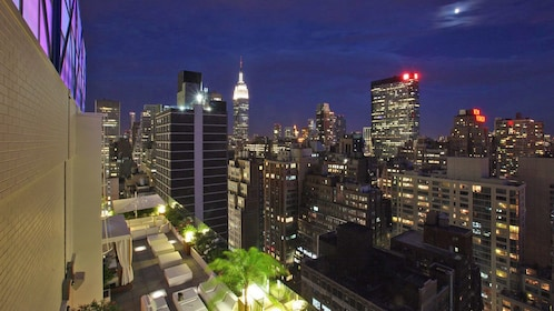 View from the monarch rooftop new york