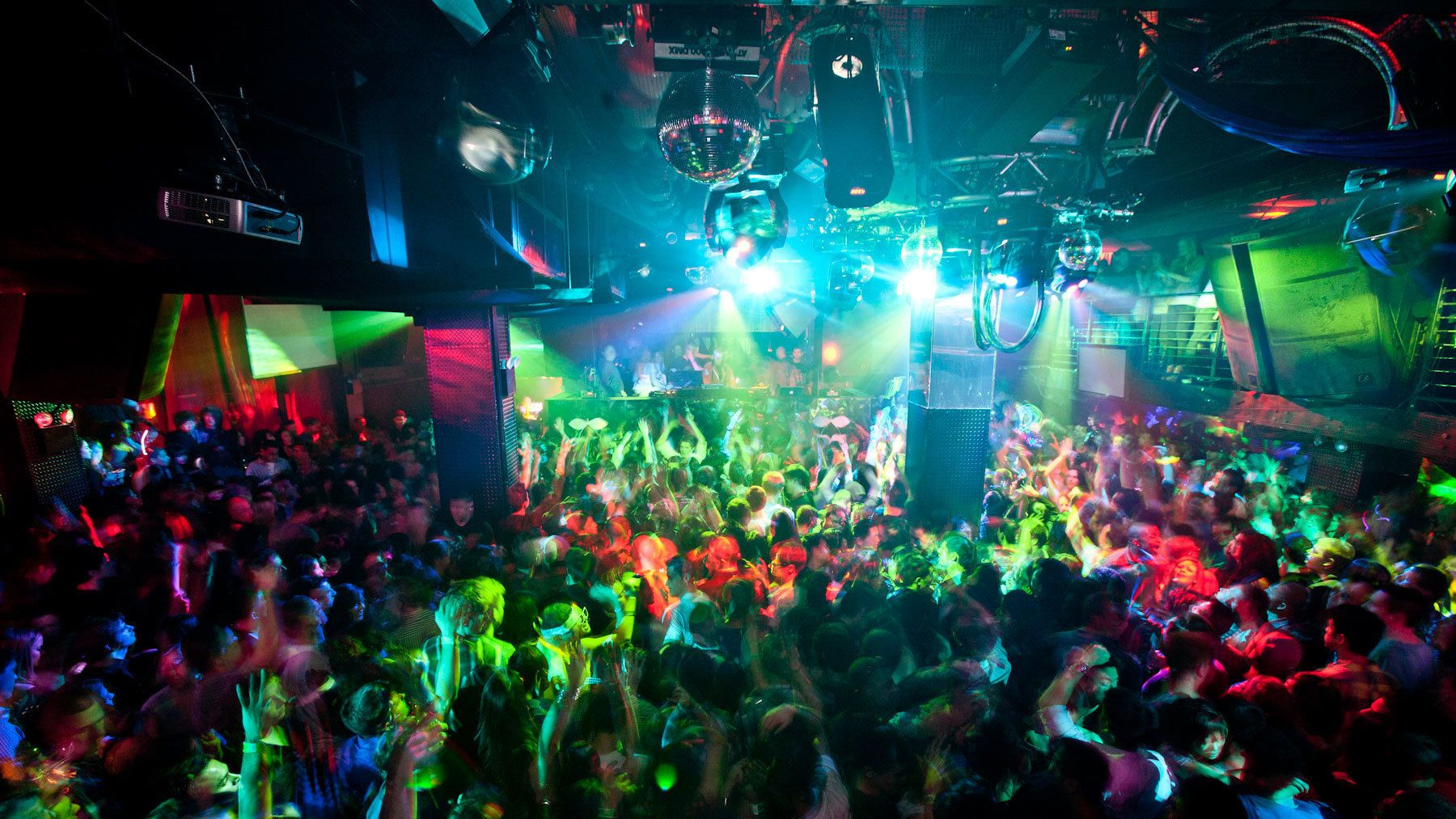 Nightclub scene in New York