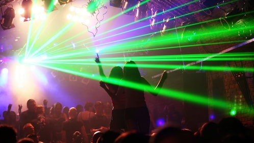World-class DJs at one of New York's hottest nightclubs