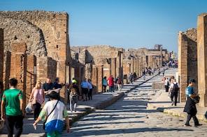 Pompeii Express Skip-the-Line Tour via High-Speed Train