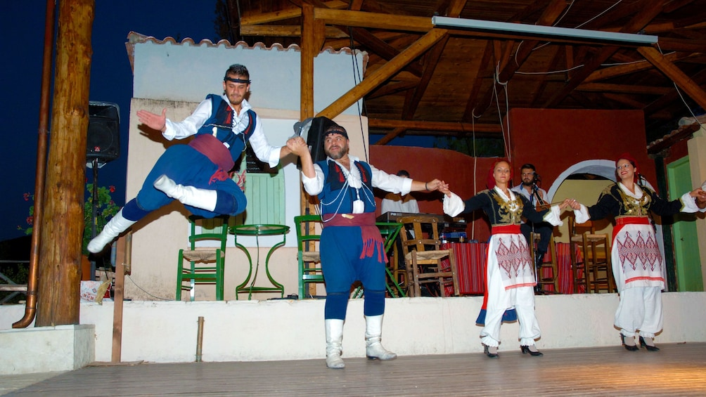 Cretan Night Out with Live Music & Dance
