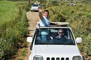 Southern Crete 4x4 Safari with Preveli Palm Beach & Kourtaliotiko Gorge