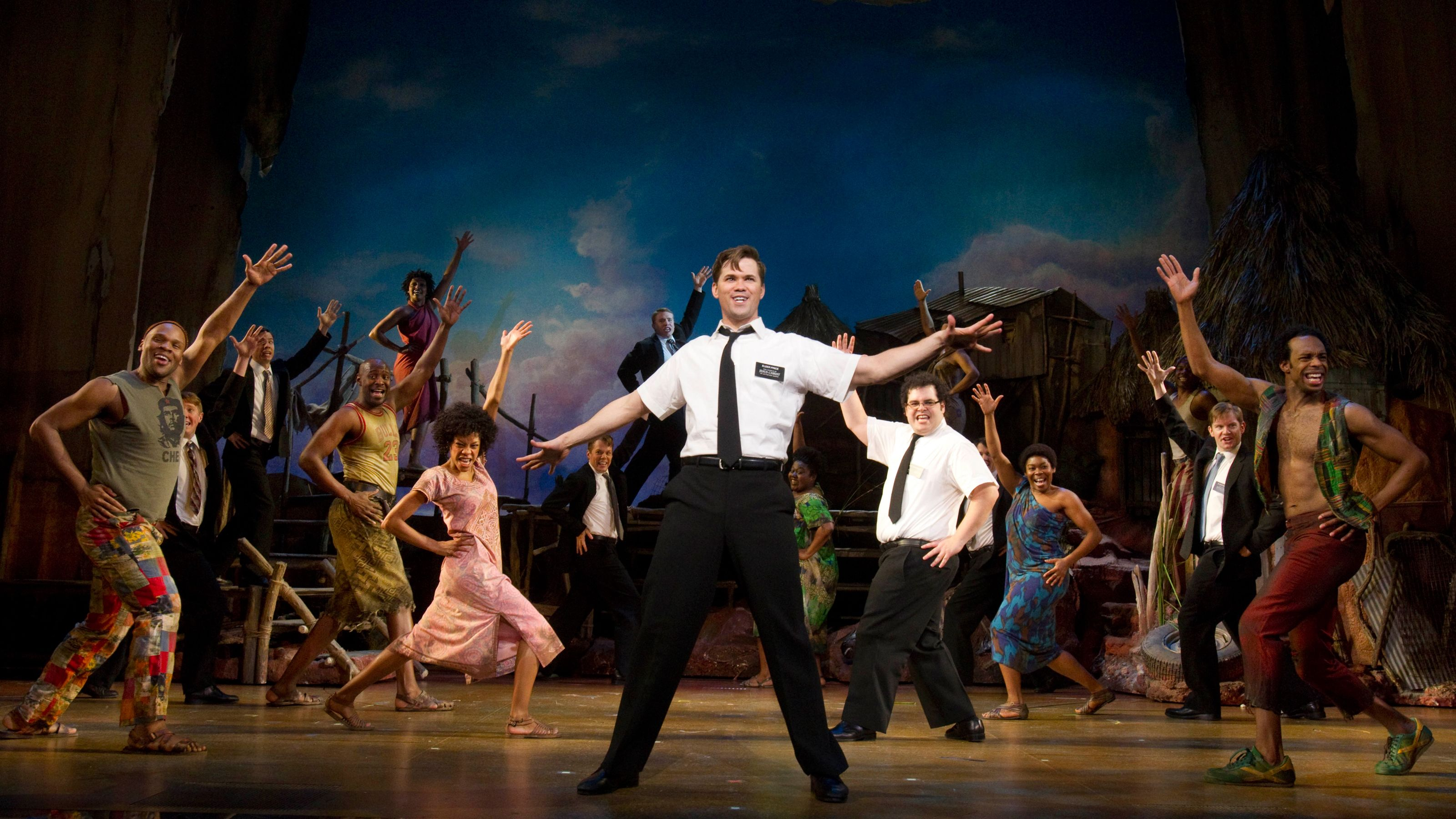 Production photo from Book of Mormon in New York