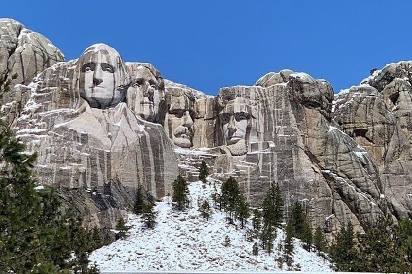 Show item 10 of 10. Private Mount Rushmore and Flume Trail Hike