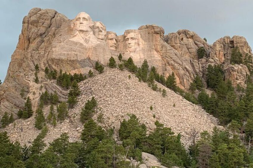 Show item 1 of 10. Private Mount Rushmore and Flume Trail Hike