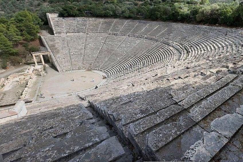 Show item 2 of 2. Epidaurus theater
