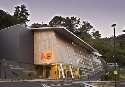 The Visitor Centre at ZEALANDIA - Photo by Paul McCredie.JPG