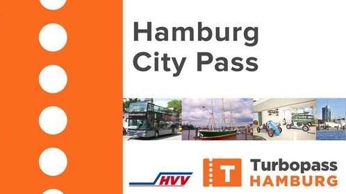 View of the Turbopass Humburg City Pass