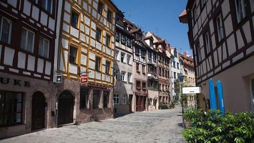 Cobbled alleys of Munich