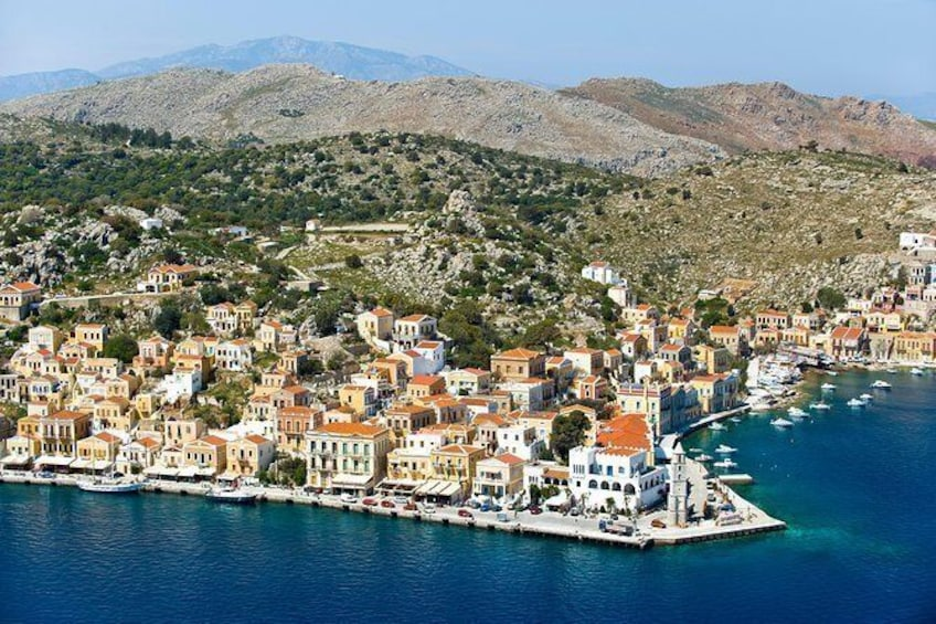 Boat Trip to Symi Island with swimming at St George