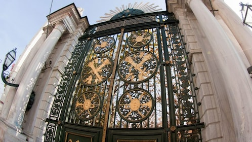 Stunning gate architecture in Istanbul