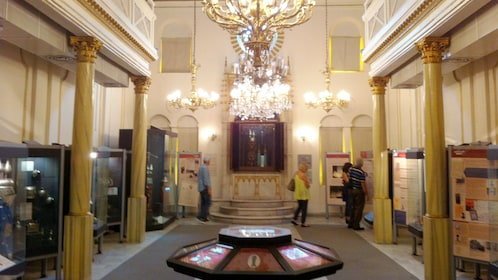 View inside the Jewish Museum in Istanbul