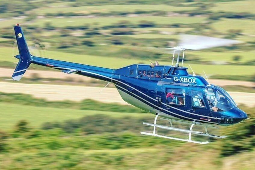 30-Minutes Extended Dublin City and Stadiums Helicopter Tour