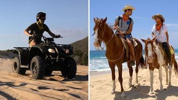 ATV & Horse-Riding Combo