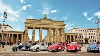 Selbständige VW-Käfer-Erkundungsfahrt