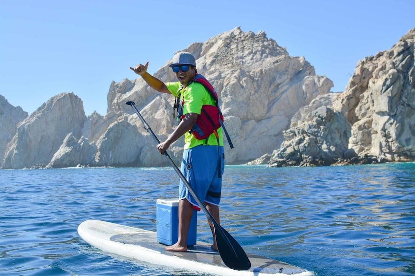 Show item 10 of 10. Glass-Bottom Kayak Excursion & Snorkeling at the Arch
