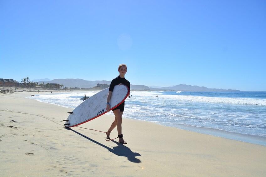 Show item 5 of 10. Cerritos Beach Surf Lessons