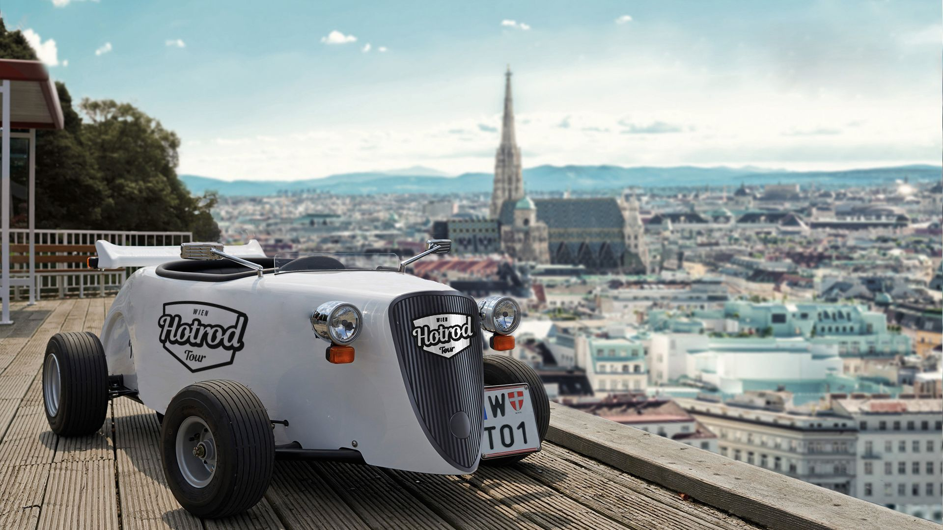 Hotrod-Tour durch Wien