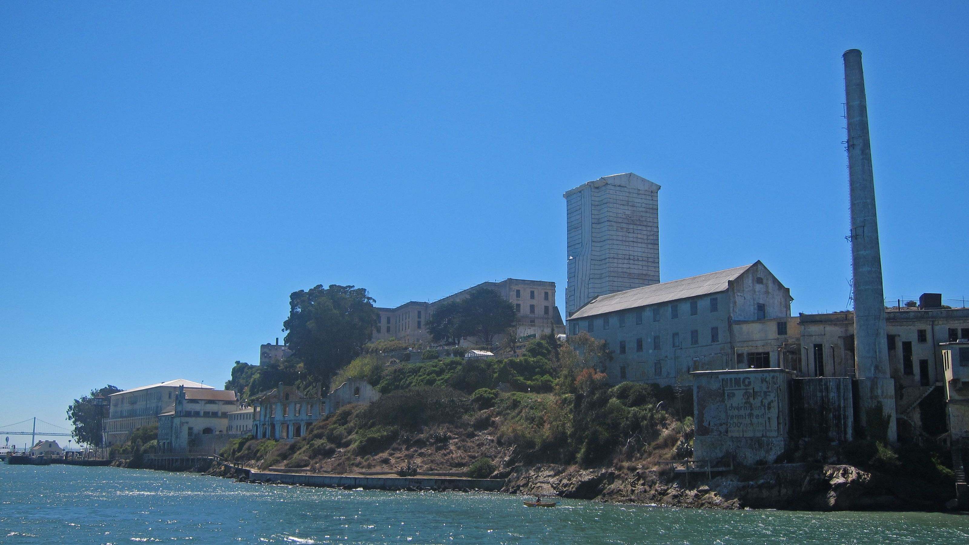 Alcatraz Island near San Francisco