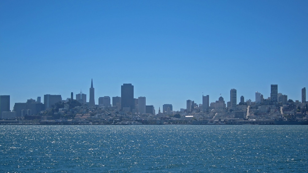 Show item 10 of 10. San Francisco from tour boat