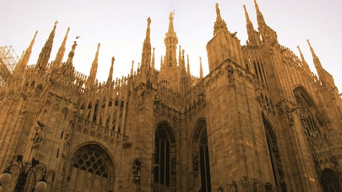 visiting the Milan Cathedral in Italy