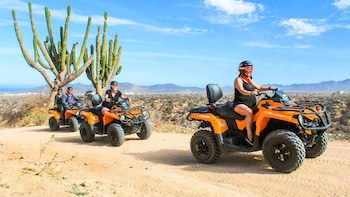 Margaritas Beach & Desert Quad bike Adventure