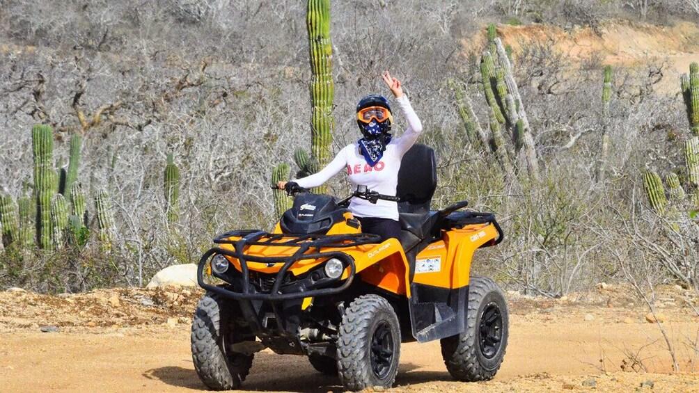 Show item 4 of 10. Cabo Baja Discovery ATV Adventure
