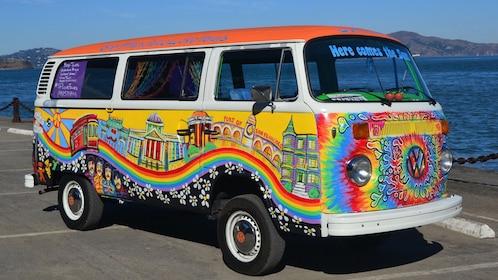 Volkswagen Bus Hippie Sightseeing Tour San Francisco