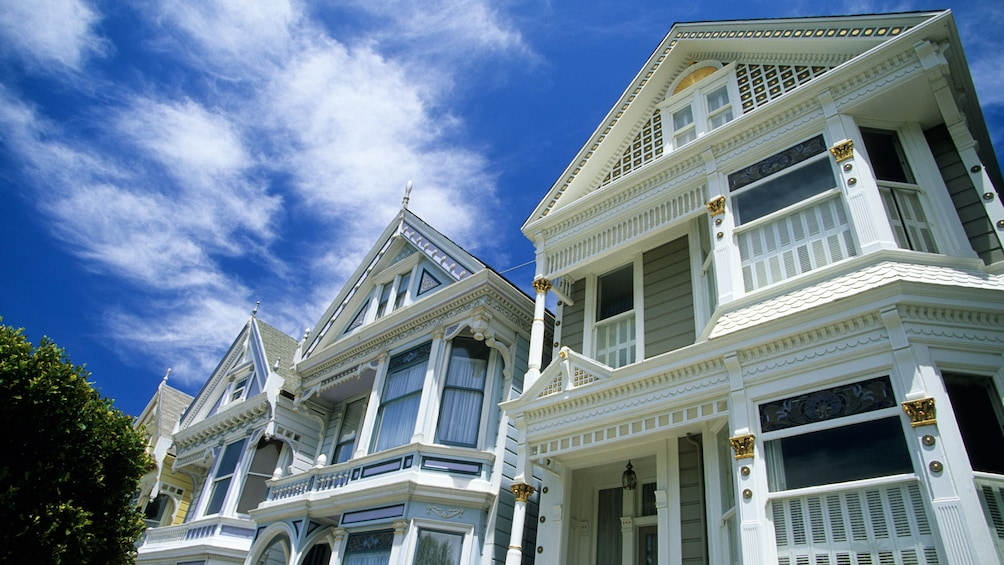 Show item 2 of 5. Victorian-style homes in San Francisco