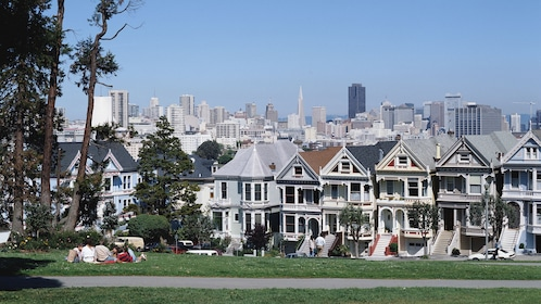 The Painted Ladies houses in San Francisco