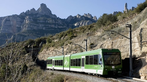 Train in Montserrat